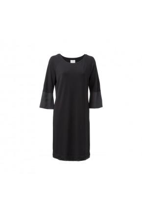 JERSEY FABRIC MIX DRESS