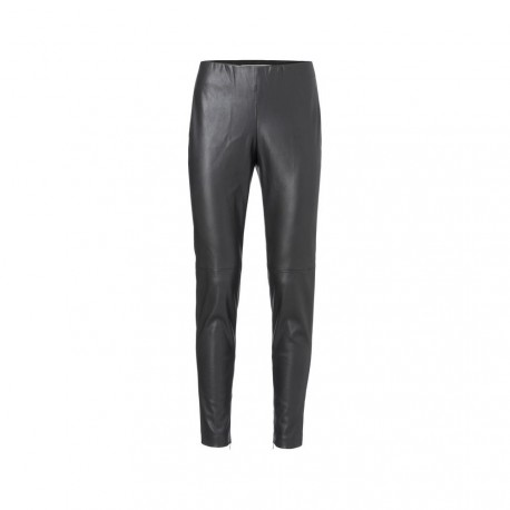 BAGGY FAUX LEATHER LEGGING