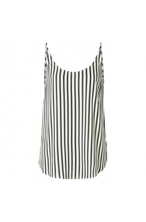 REVERSIBLE STRIPED STRAPPY TOP
