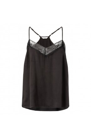 CAMISOLE SINGLET WITH LACE