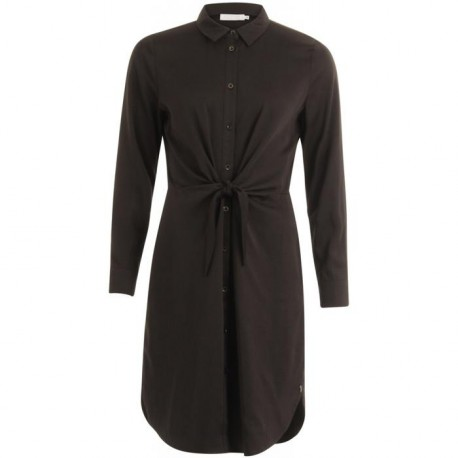 DRESS W.LONG SLEEVES AND TIE KNOT