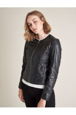 PAULA LEATHER JACKET