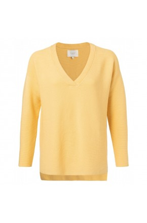 COTTON MIX RIBBED SWEATER