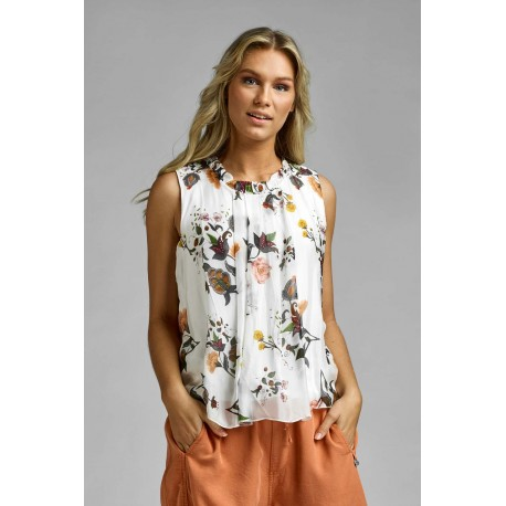 SLEEVELESS BLOUSE SVEA