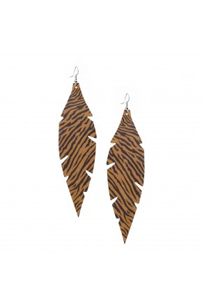 GRANDE ZEBRA EARRINGS