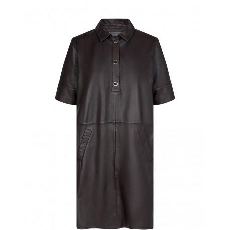 ESTER LEATHER DRESS