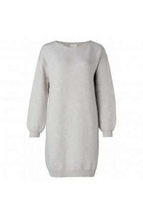 Boatneck knitted dress