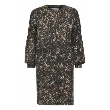 CRSANNI PRINTED SWEAT DRESS